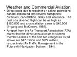 weather and commercial aviation