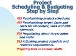 project scheduling budgeting step by step14