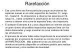 rarefacci n