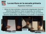 la escritura en la escuela primaria aspectos motrices2