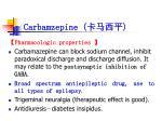 carbamzepine
