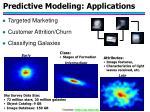 predictive modeling applications