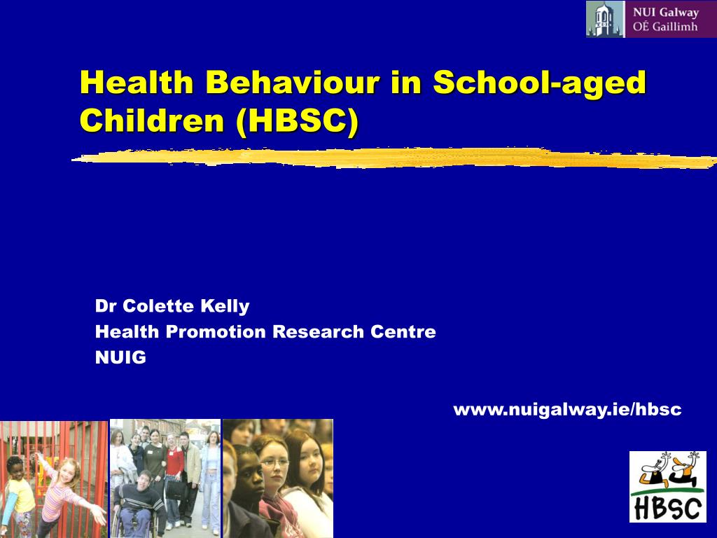 health behaviour in school aged children hbsc