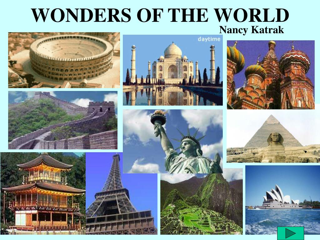 wonders of the world l.