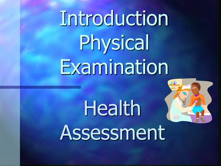 introduction physical examination n.