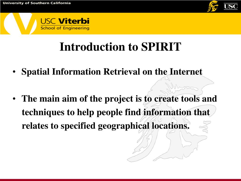 Introduction to SPIRIT