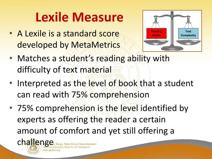 Lexile Measure