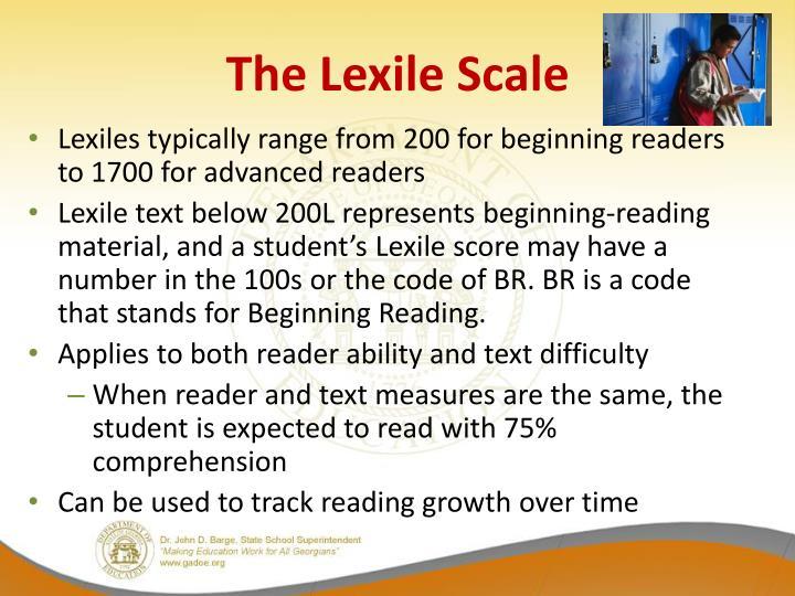 The Lexile Scale