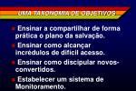 uma taxonomia de objetivos2