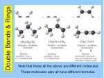 double bonds rings