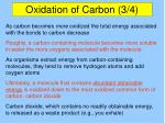 oxidation of carbon 3 4