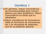 gen tica 1