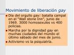 movimiento de liberaci n gay