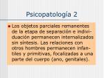 psicopatolog a 2