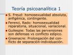 teor a psicoanal tica 1
