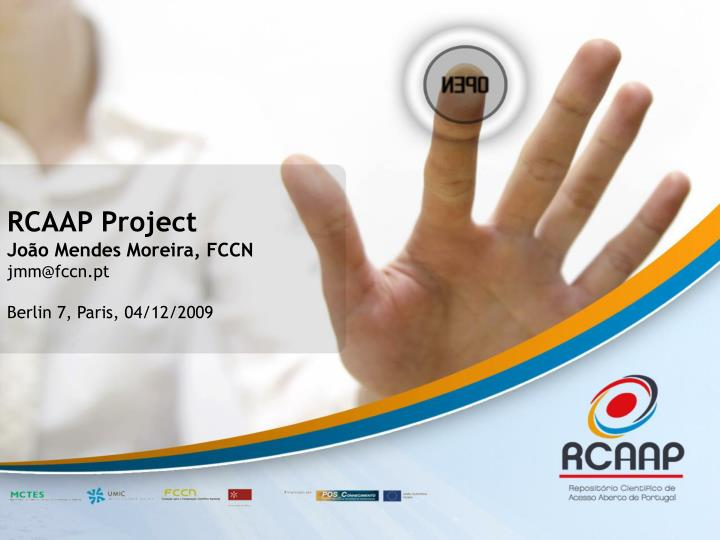 RCAAP Project