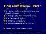 final exam review part 111