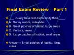 final exam review part 113