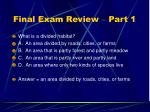 final exam review part 127