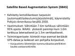 satellite based augmentation system sbas1