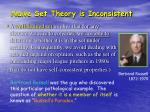 na ve set theory is inconsistent1