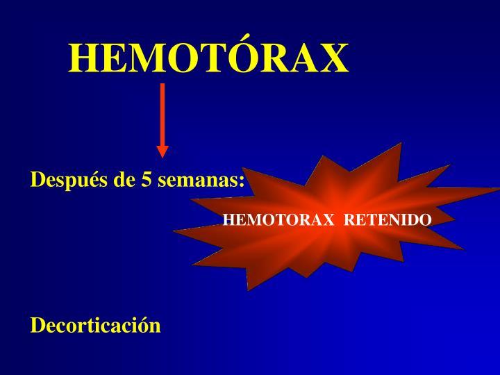 HEMOTÓRAX