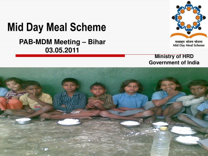mid day meal scheme n.
