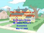 the five powers of economic thinking