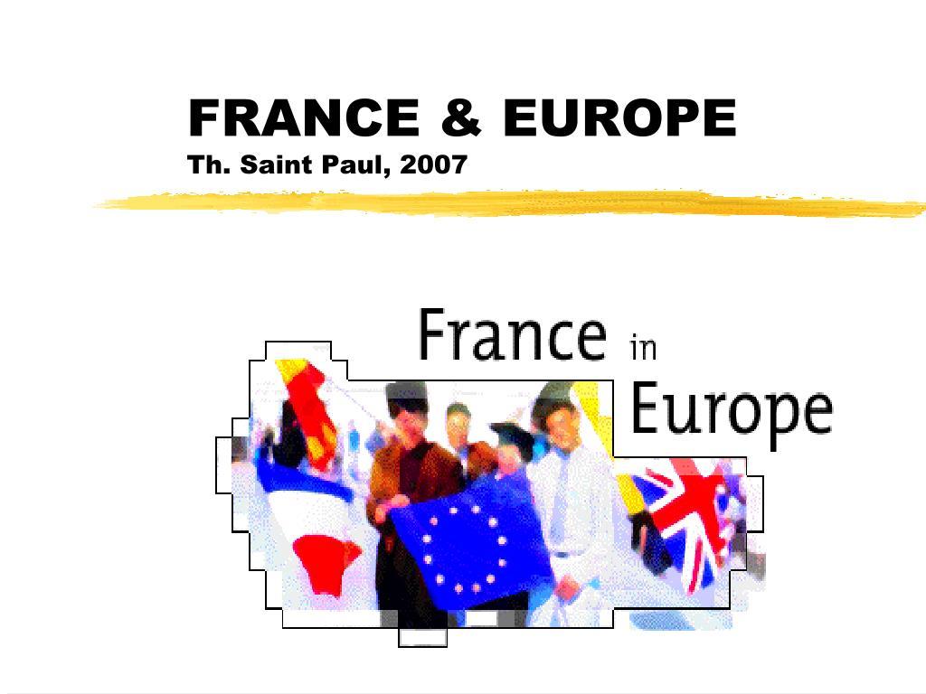 france europe th saint paul 2007
