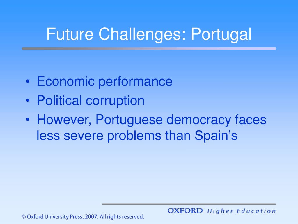 Future Challenges: Portugal