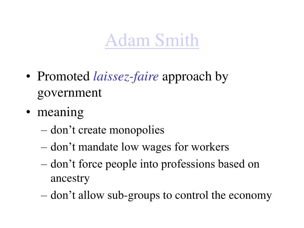 adam smith l.