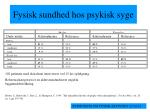 fysisk sundhed hos psykisk syge2