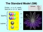 the standard model sm