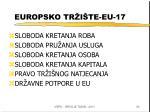 europsko tr i te eu 17