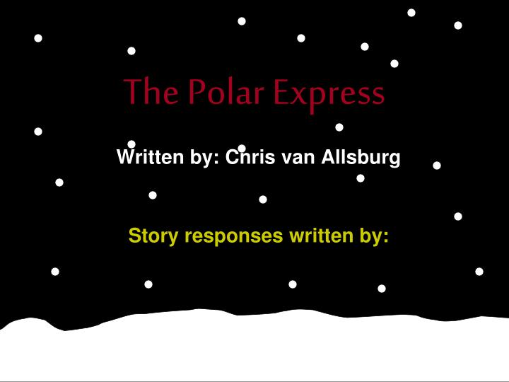 the polar express n.