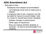 ada amendment act7