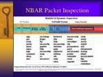 nbar packet inspection