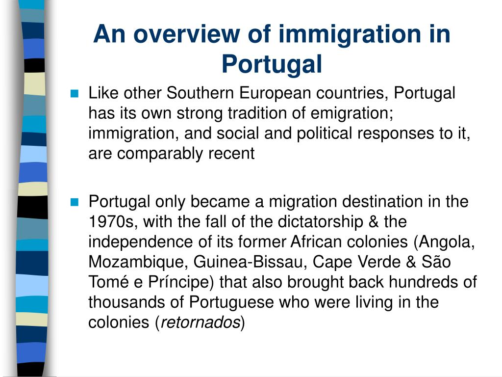 An overview of immigration in Portugal
