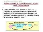 modelo sist mico de perspectivas en la gerencia de las organizaciones