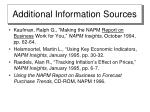 additional information sources