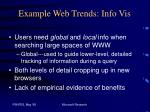 example web trends info vis