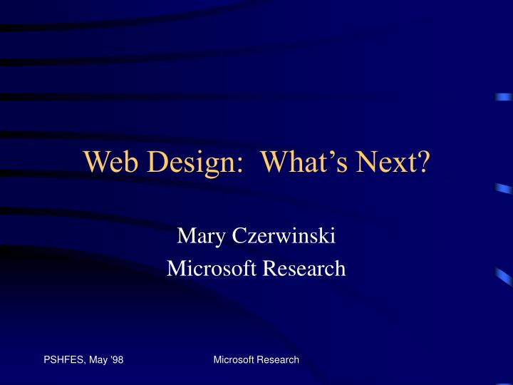 web design what s next n.