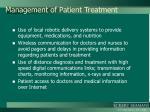 management of patient treatment1