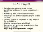 egad project
