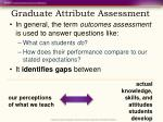 graduate attribute assessment