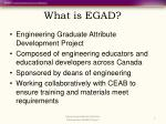 what is egad