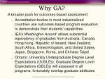 why ga