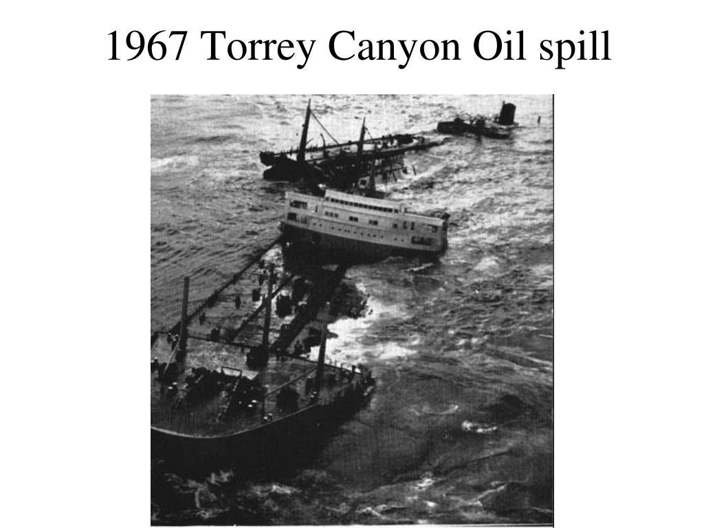 1967 Torrey Canyon Oil spill