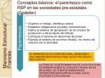 conceptos b sicos el parentesco como rsp en las sociedades pre estatales godelier