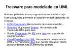 freeware para modelado en uml